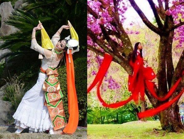 〈音を観る=観音〉の感覚で、舞を奉納する表現者。時・人・場に合わせて、姿や手具を変える観音菩薩の如く、和洋折衷、変幻自在に姿を変え、観音、モデル、ダンサー、企画者として活躍 […]