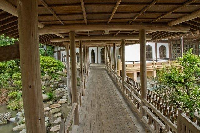 重要文化財の大殿や、光明寺の歴史ある伽藍を案内するツアー。